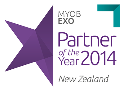 Brunton is the Partner of the year 2014 of MYOB EXO.
